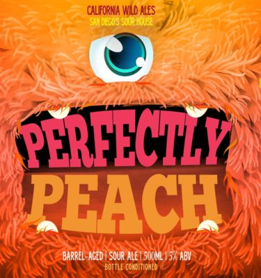 perfectly peach california wild ale