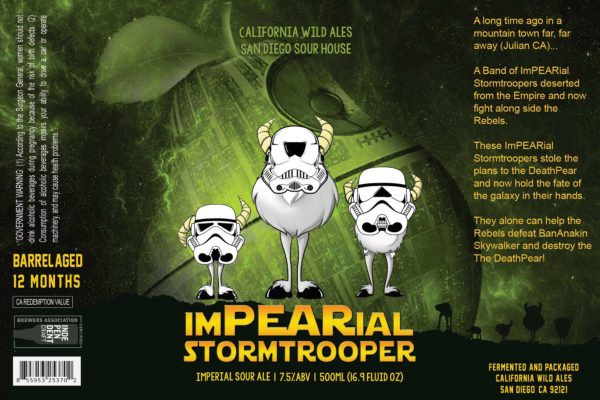 ImPEARial STormtrooper | California Wild Ales