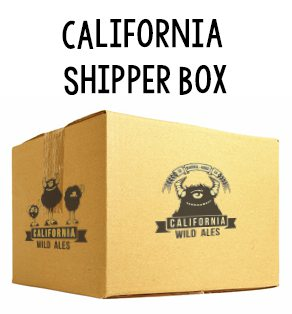 California Wild Ales - Shipping Box