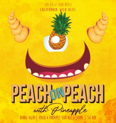 Peach on Peach with Pineapple